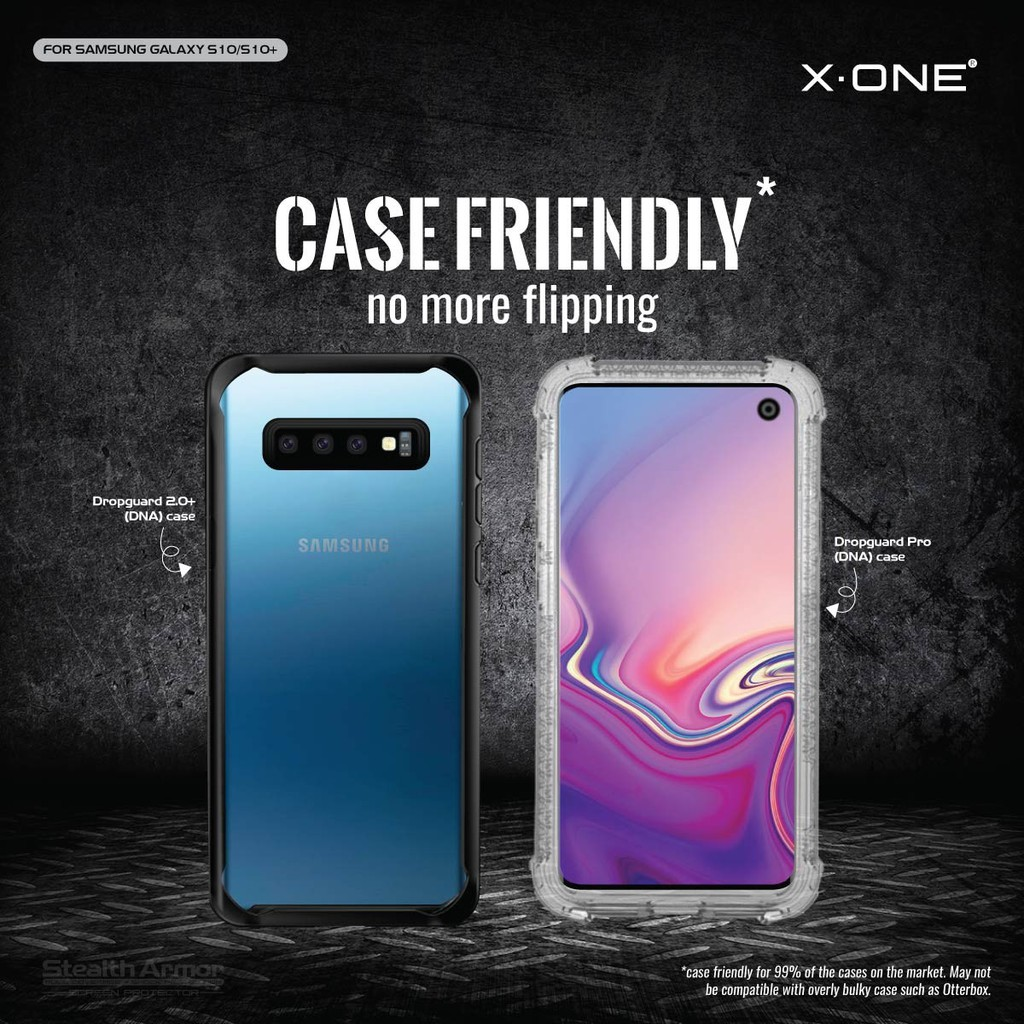 Samsung Galaxy S10 X-One Stealth Armor Screen Protector