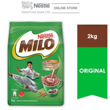 Nestle MILO Activ-Go Chocolate Malt Powder (2kg)
