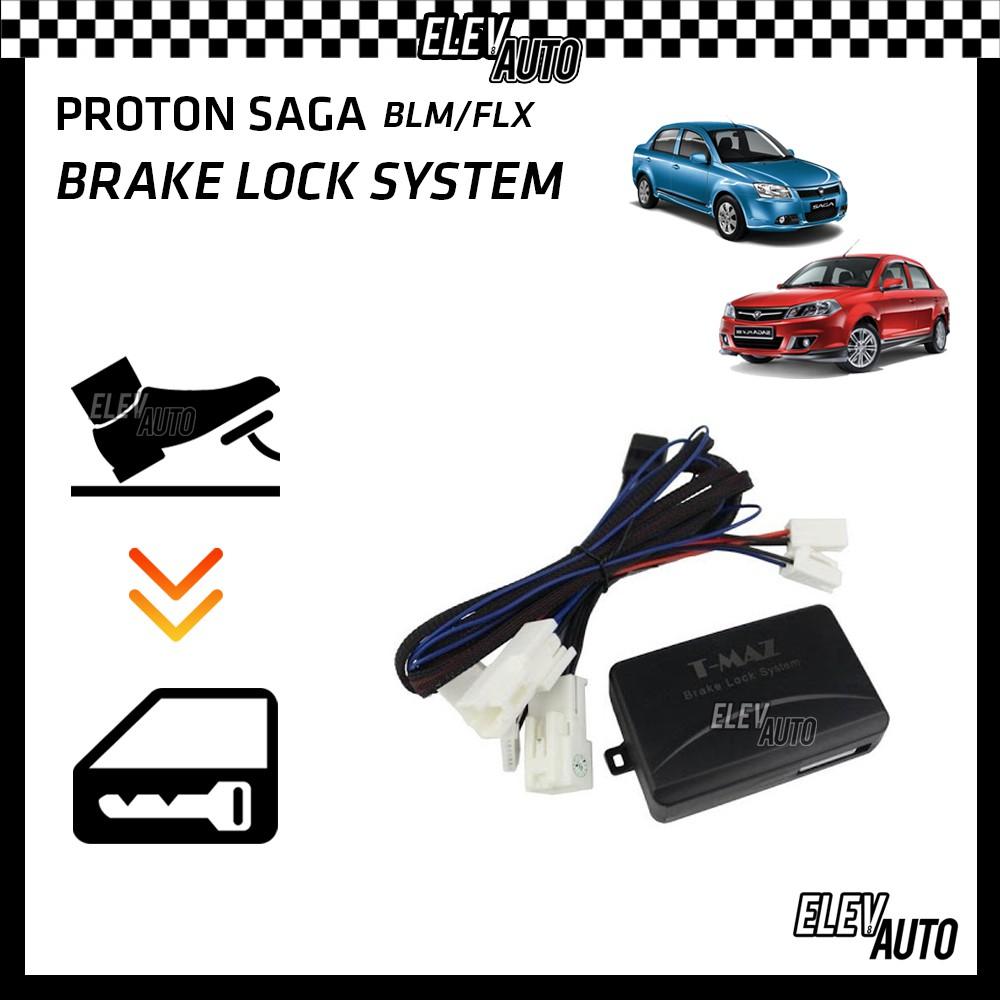 Proton Saga BLM/FLX 2008-2015 Brake Lock System (Plug & Play)