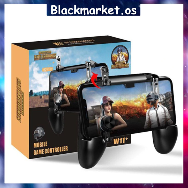 🔥Ready Stock🔥PUBG Joystick W11 Gamepad All-in-one Mobile Phone Game Fire-free Pad Mobile Game Controller L1 R1 Trigger