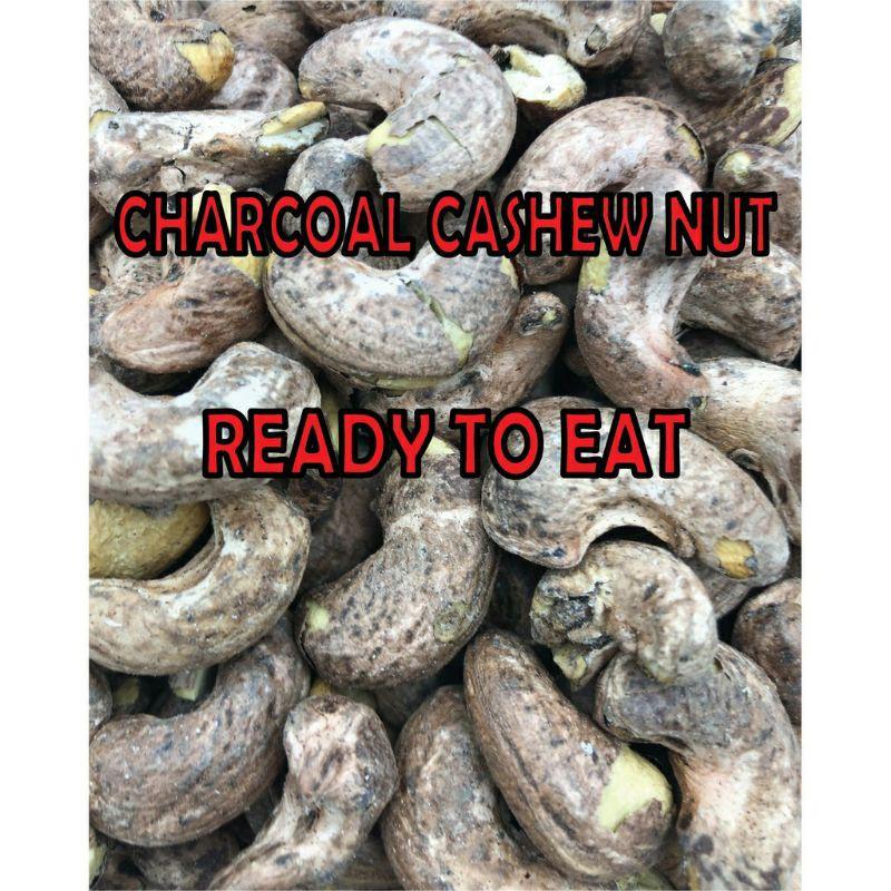 500GM】Kacang Gajus Bakar Charcoal Cashew Nuts Skin-On 有皮碳烤腰果 Roasted Cashew Nuts 腰豆 GY0019