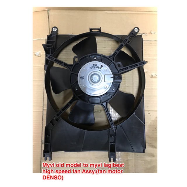 Myvi radiator fan