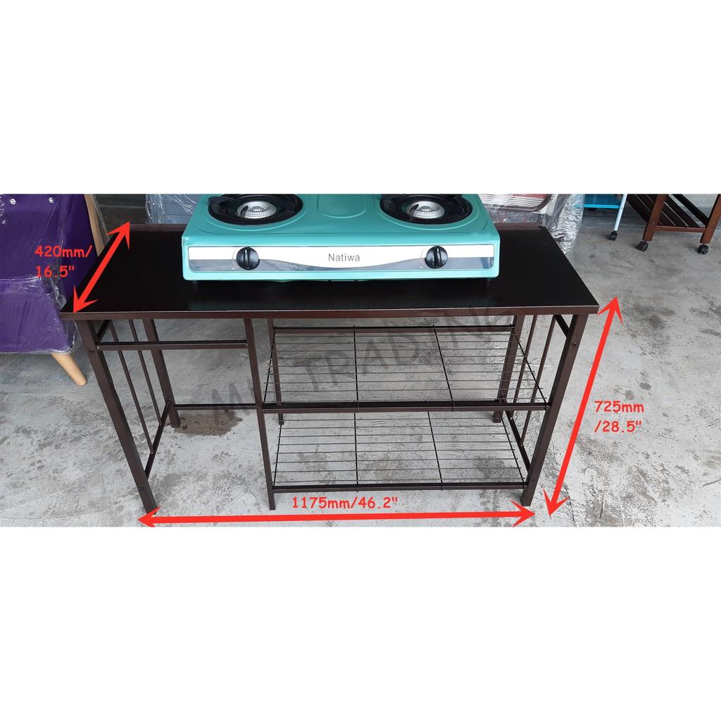 11 11 Tempat Letak Dapur Gas Rak Dapur Gas Tempat Masak Besi Rak Dapur Besi Copper Kitchen Cabinet Copper Outdoor 4ft Shopee Malaysia