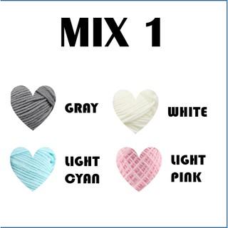 LovLim 16 Cotton Milk Yarn Kit for Crochet and Knitting, 1200 ...   320x320