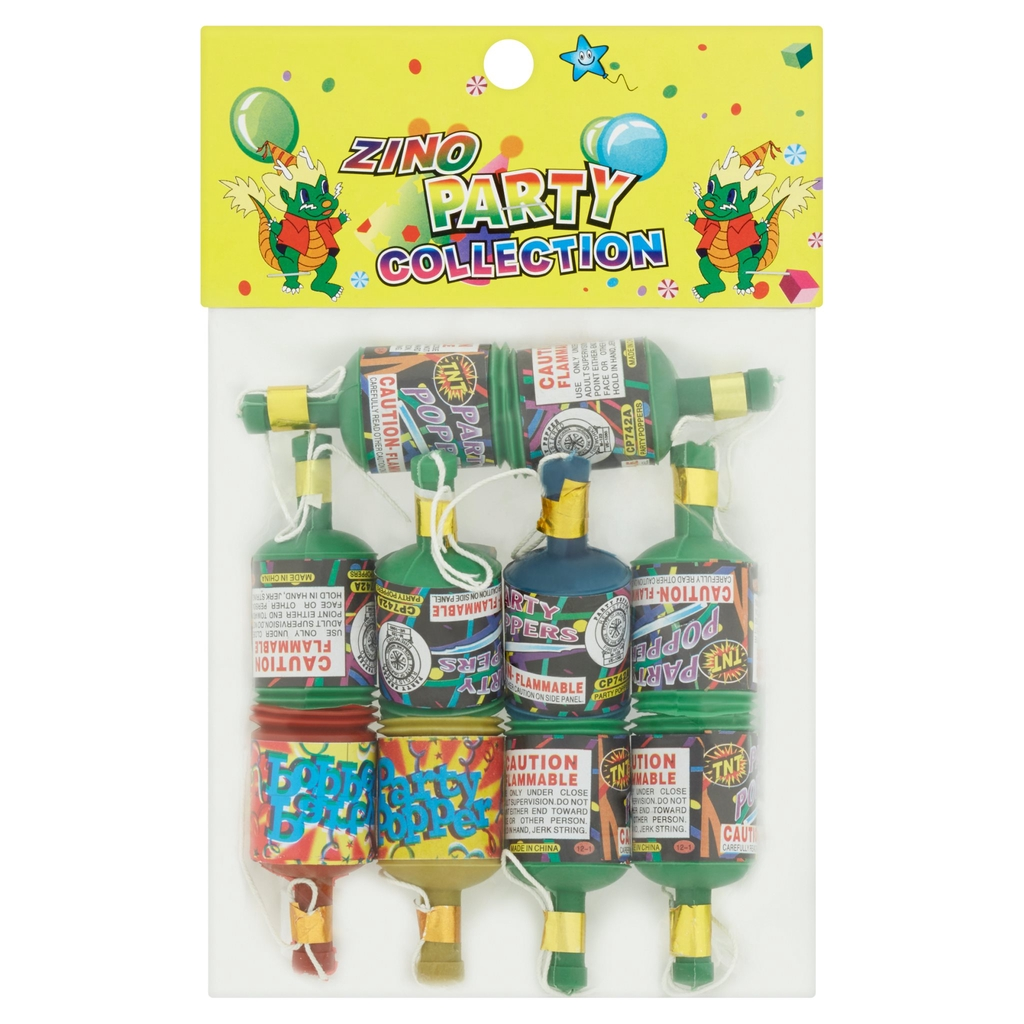 Zino Party Collection Party Popper 10Pcs