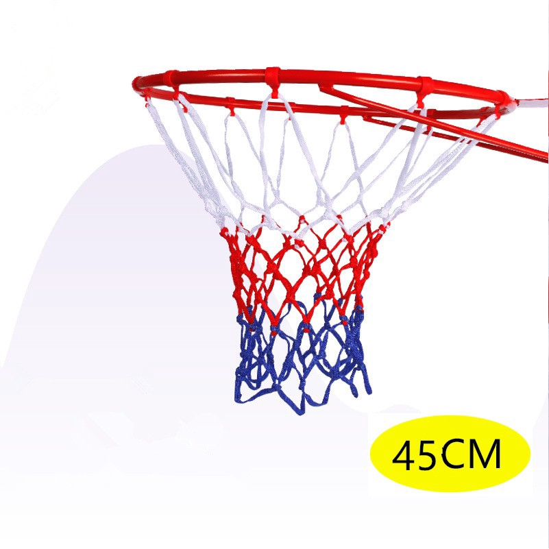 Basketball Ring Hoop Net Movable Professional Hanging Basket 45cm Wall Mounted