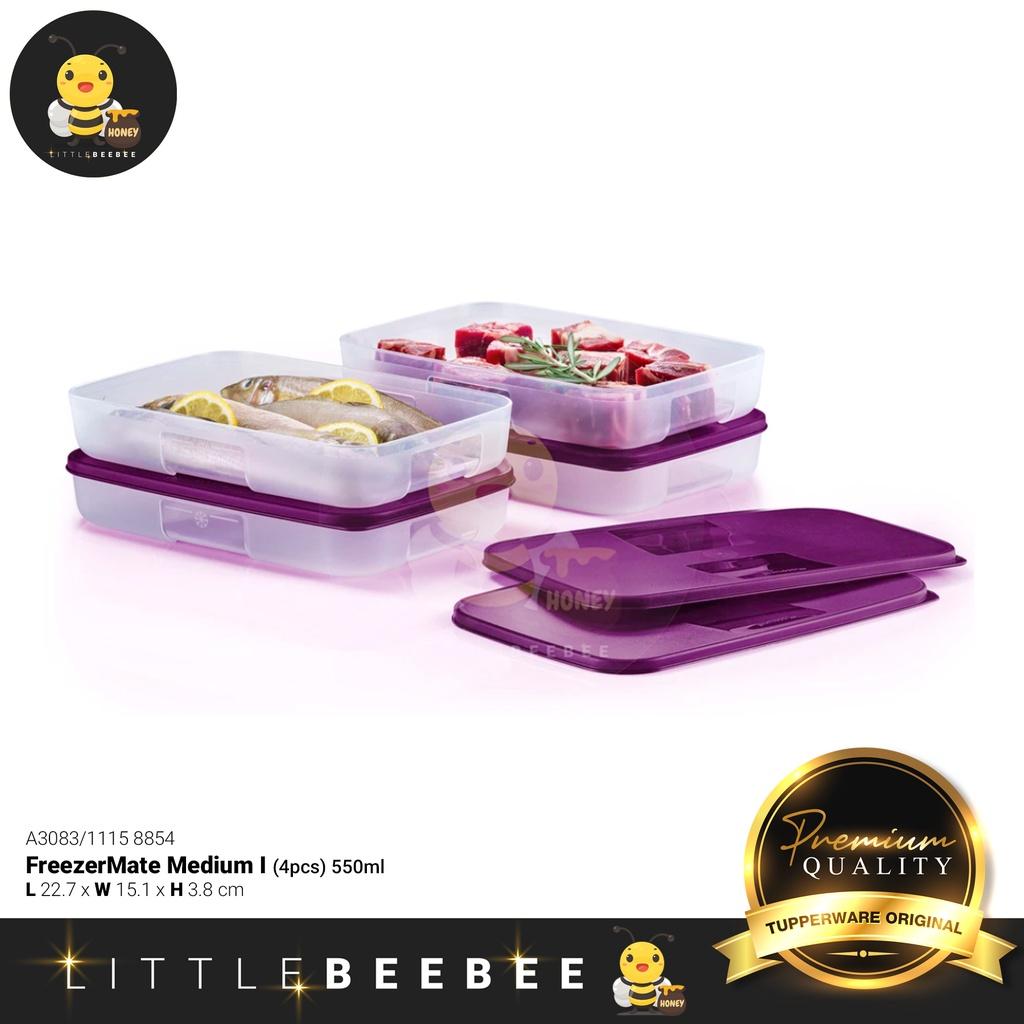 《📦 READY STOCK》Tupperware FreezerMate Medium I (4pcs) 550ml