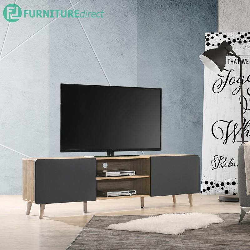 Furniture Direct JAYDEN 6 Feet TV Cabinet/ rak tv/ rak tv kayu/ rak tv scandi