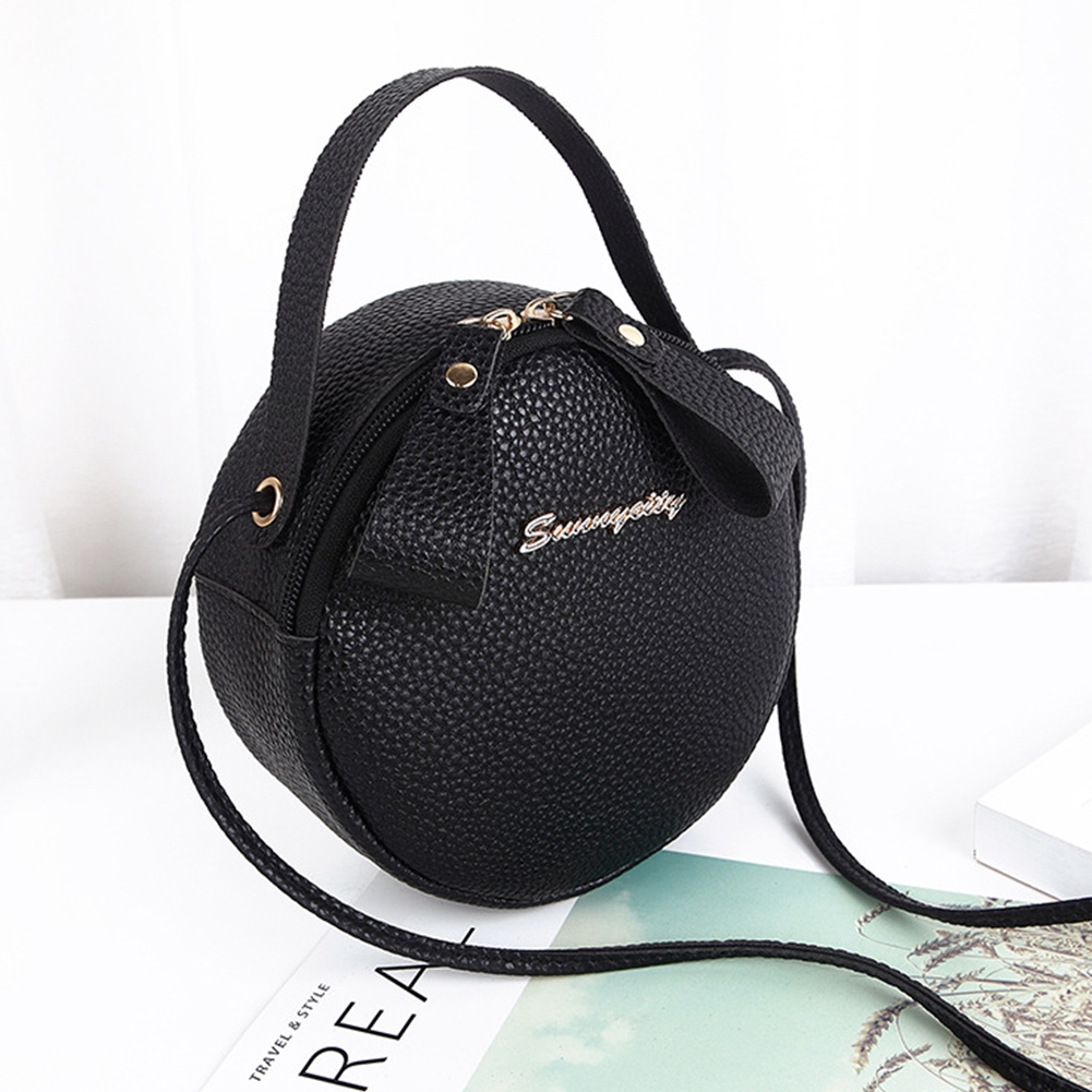 135727de459 Women Fashion Crossbody Handbags Shoulder Mini Party Tote Sling Round  Zipper Closure Messenger Bag