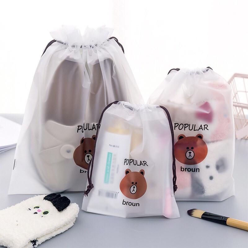 7d6205f7b023 2PCS Waterproof Storage bag Women Travel Makeup Bag Toiletry Storage Case