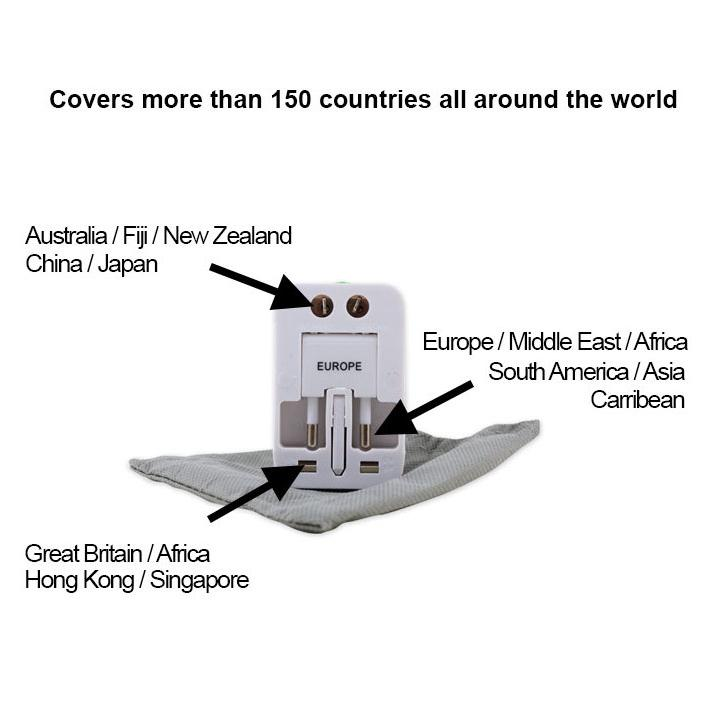 All-In-One Universal Travel Adapter For Worldwide