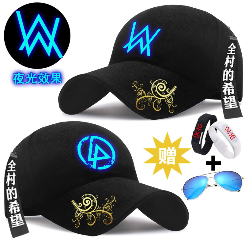 4dcde7527 {cap&hat}Luminous alan walker hat cap Allen Walker electronic sound with  faded b
