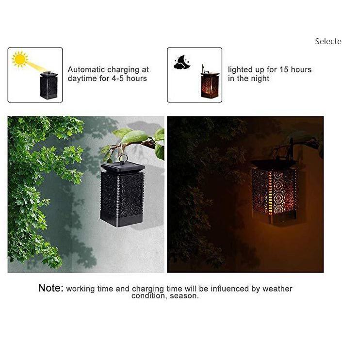 READY STOCK SHP] LAMPU SOLAR KALIS AIR / Solar Flame Torch Flame Light Outdoor Waterproof Courtyard Garden Corridor Lawn