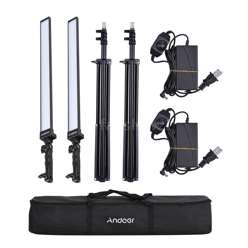 Kit Photography Studio Dimmable Video Light amp;s F Handheld Andoer Led Lighting JlTFK1c