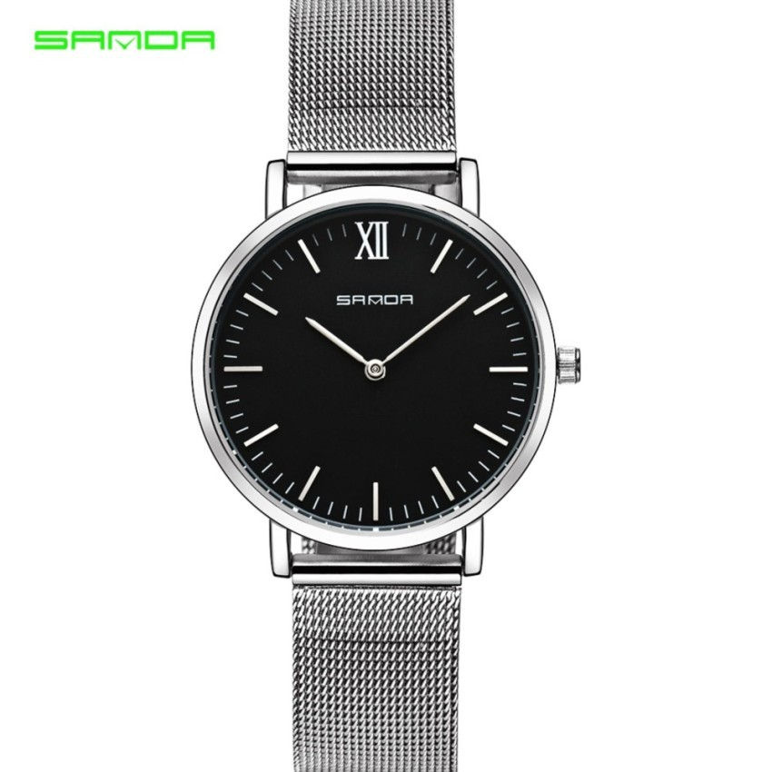 a2c007ca5452 SANDA P194 Dazzling Genuine Leather Star Quartz Watch for Women (4 COL)