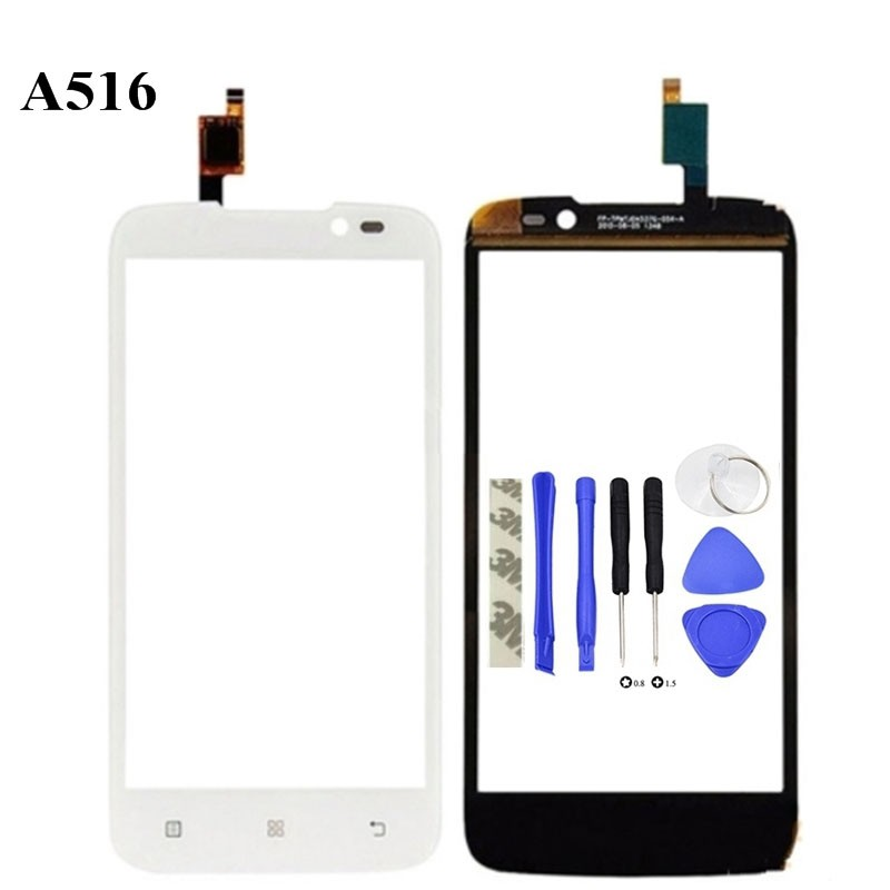 For Lenovo A516 Touch screen Front Glass Panel
