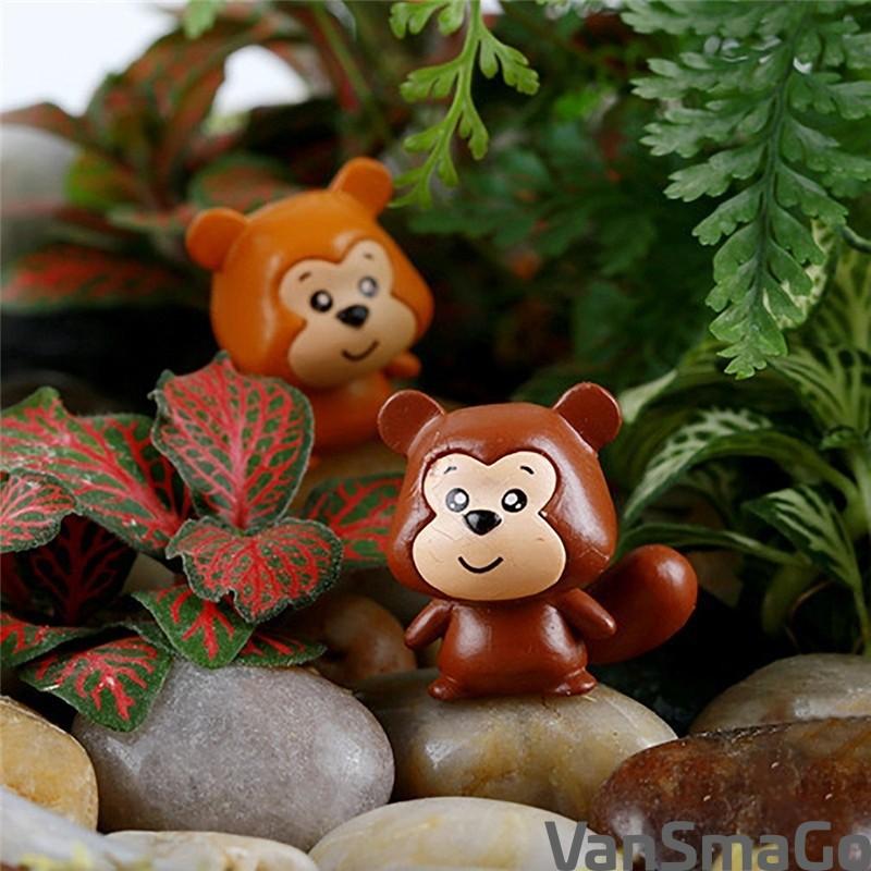 5Pcs Mini Sheep Animals Home Micro Fairy Garden Miniatures Decor DIY  TPI