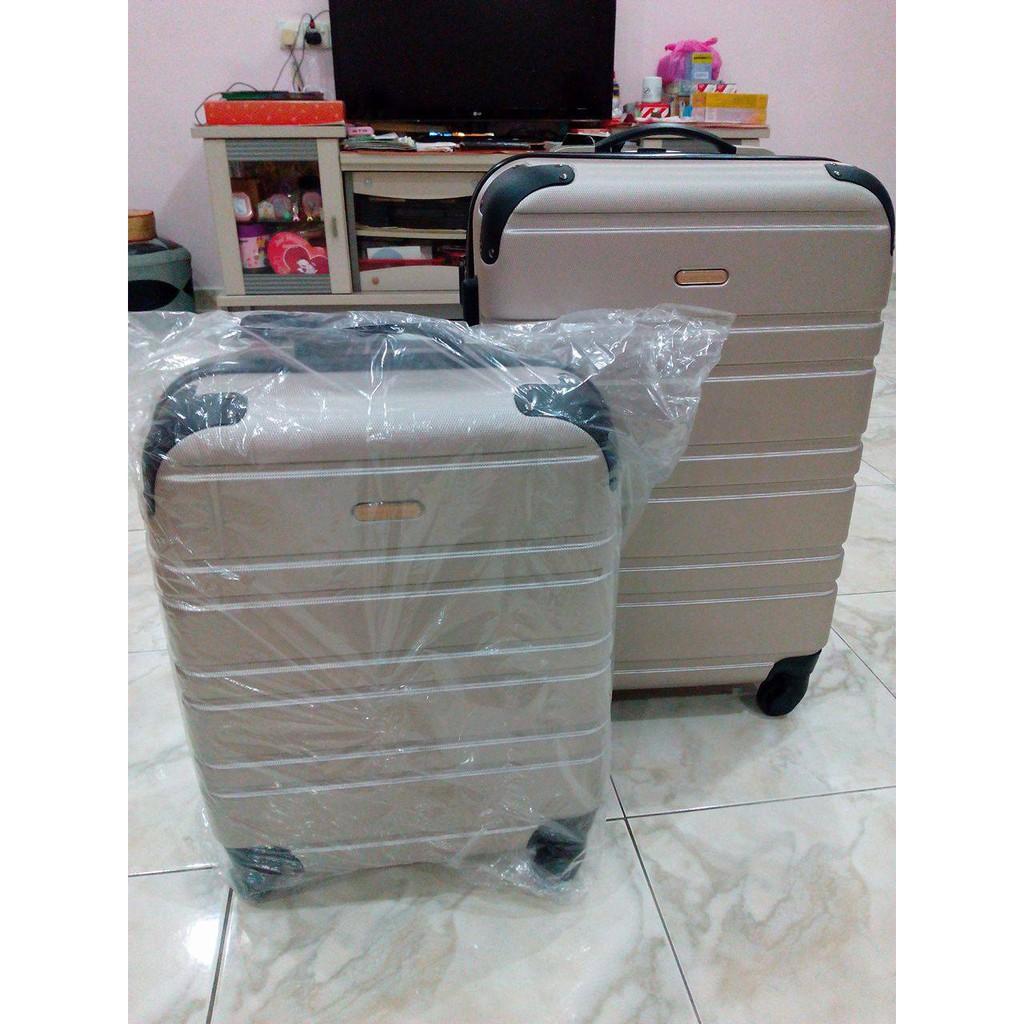 17b1ad91235 Brand New Valentino Creations 2 in 1 Luggage Set | Shopee Malaysia