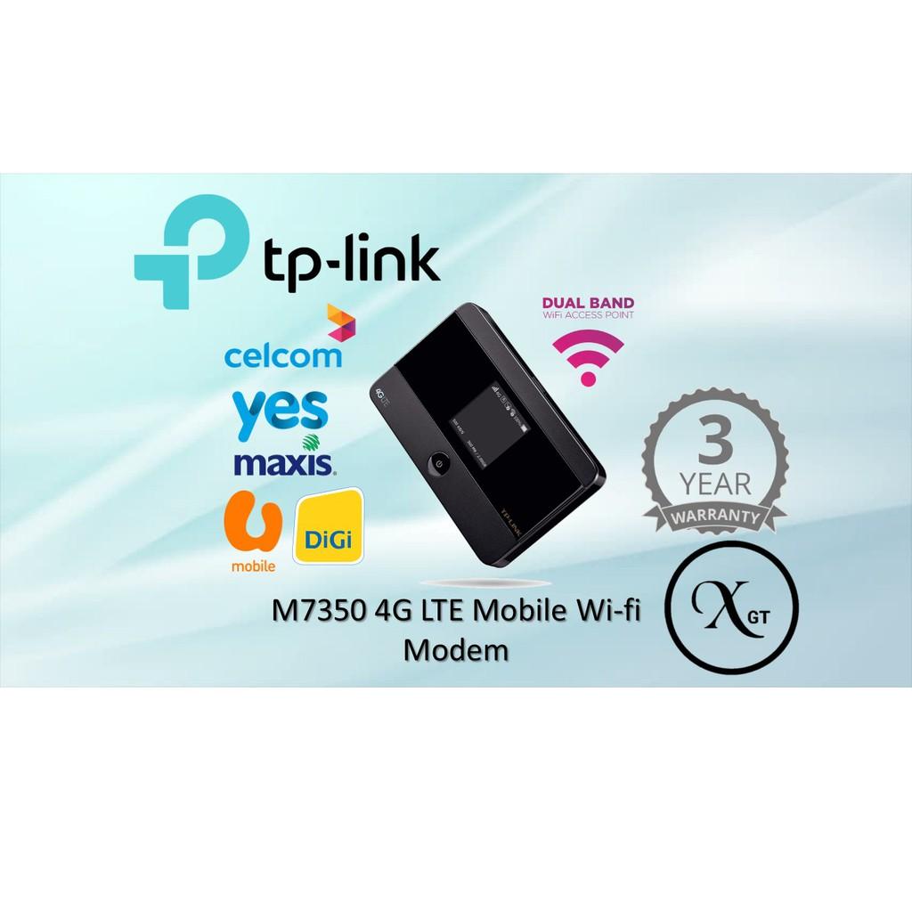 Tp Link M7350 4g Lte Mobile Wi Fi Shopee Malaysia Advanced Wifi Mifi