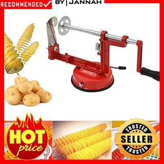 Hot Item Spiral Potato Slicer Mesin Pemutar Kentang