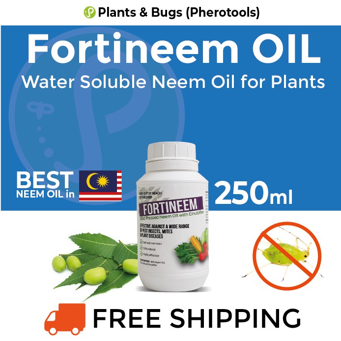 NEEM OIL Garden Pest Control Fortineem Oil (cold Pressed