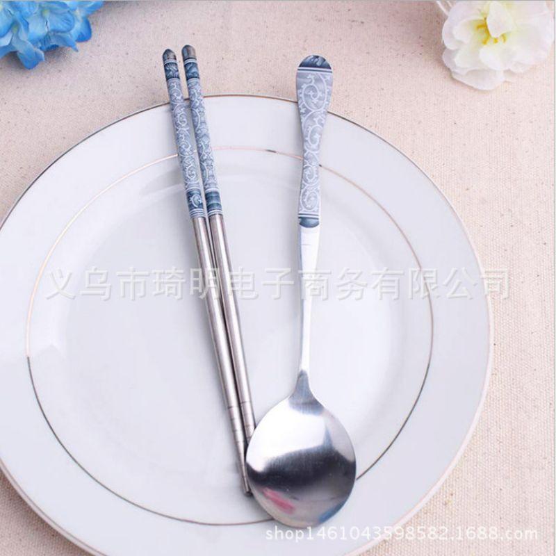 青花瓷具✅ 两件套   筷子    勺子青花瓷具✅ 两件套   筷子    勺子