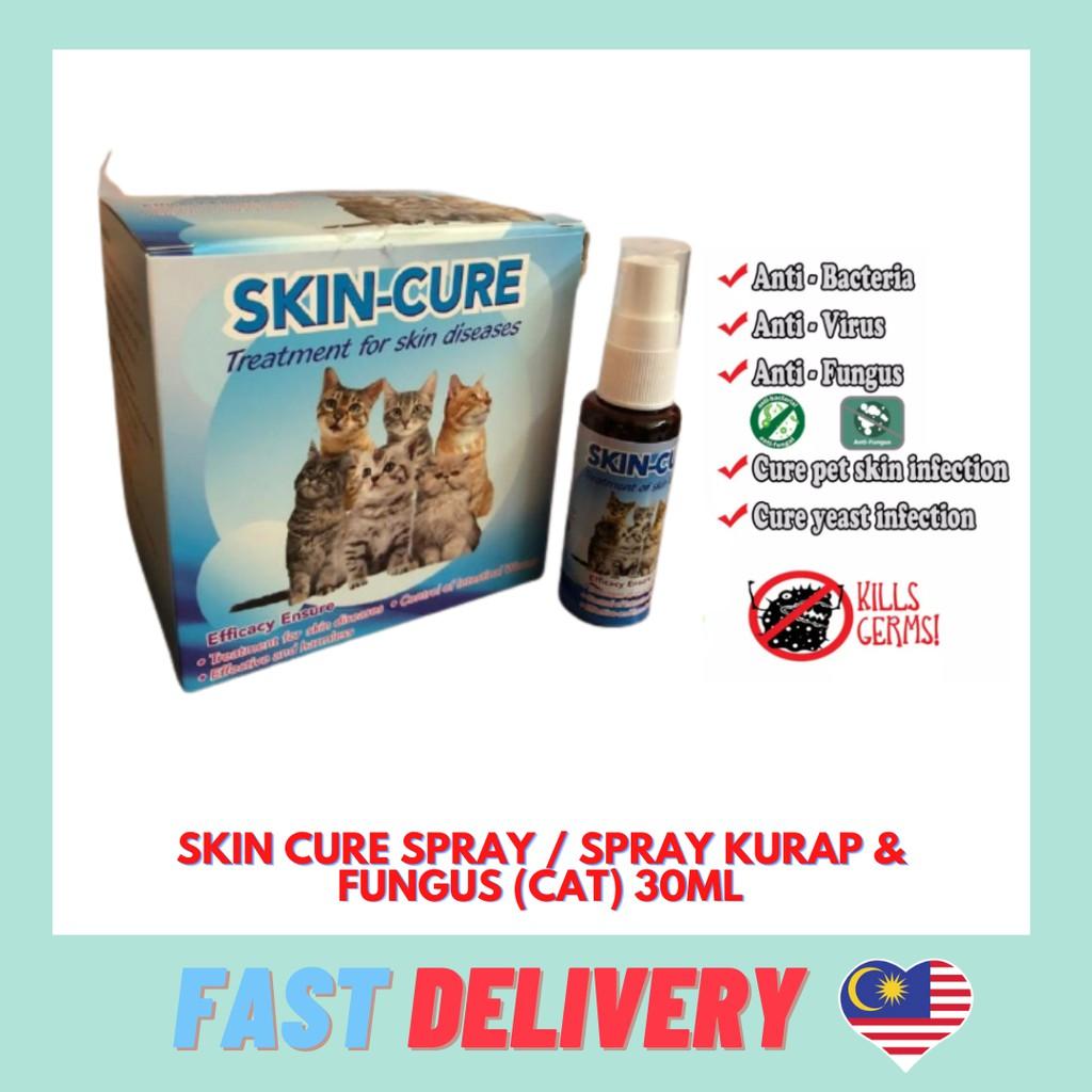 Skin Cure Spray / Spray Kurap & Fungus (Cat) 30ML