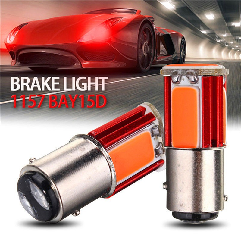 1PC 1157 BAY15D 33 SMD 5630 LED Car Tail Stop Brake Bulb Lamp  Red Light DC 12V