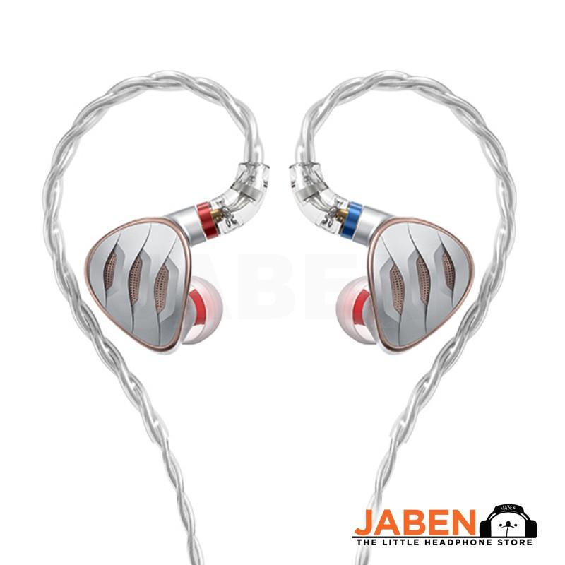 FiiO FH5s Hi-Res 2BA+2DD Hybrid Config Detachable MMCX 3.5mm 2.5mm 4.4mm Adapter Wired In-Ear Earphones [Jaben]