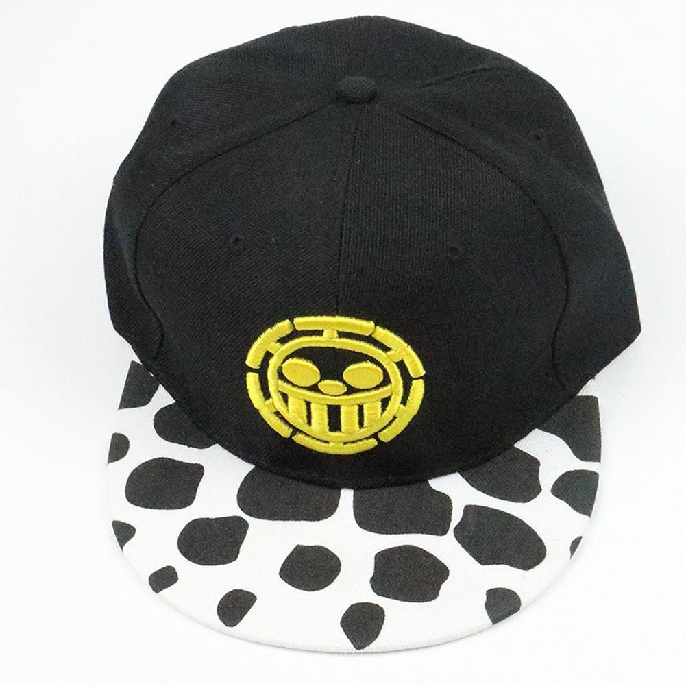 One Piece Trafalgar Law Sign Skull Head Baseball Caps Sunhat Cosplay Hats  18966b2f5137
