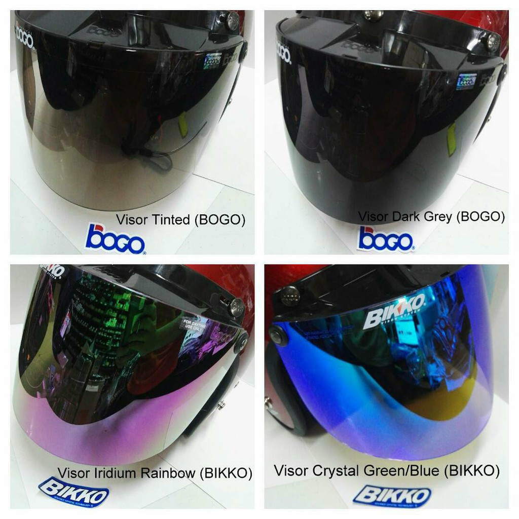 0e596dd9 Bogo bubble visor rainbow color   Shopee Malaysia