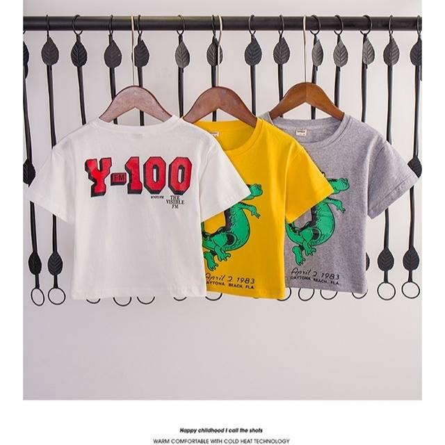 Baju Tshirt Budak Pakaian Kanak Kanak Lelaki Lengan Pendek T Shirt Pakaian Kanak Kanak Lelaki Musim Panas Baju Kemeja Kapas 2020 Kanak Kanak Muda Tampan Baru Versi Korea Shopee Malaysia