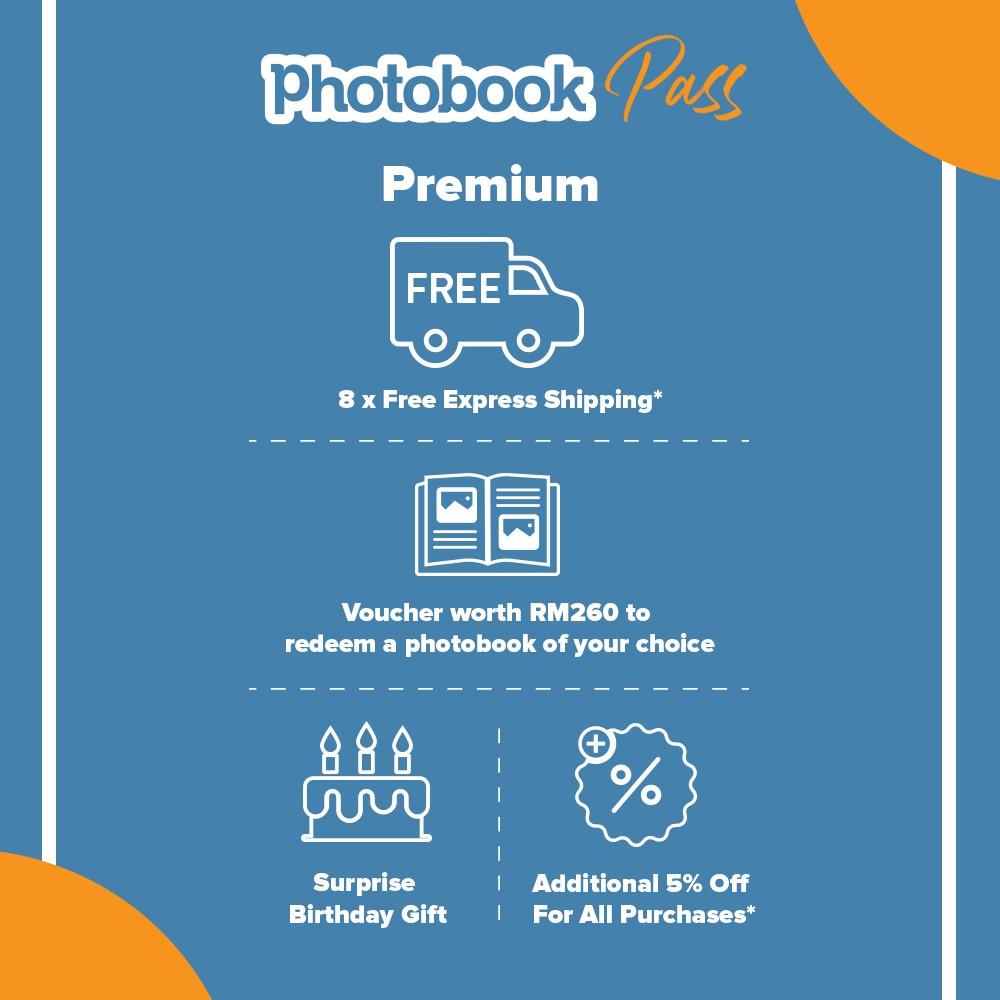Photobook Pass: Premium Package