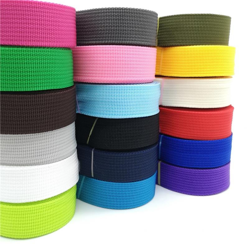 "High Quality Strap Nylon Webbing Knapsack Strapping Sewing Bag Belt 1/"" 25mm"