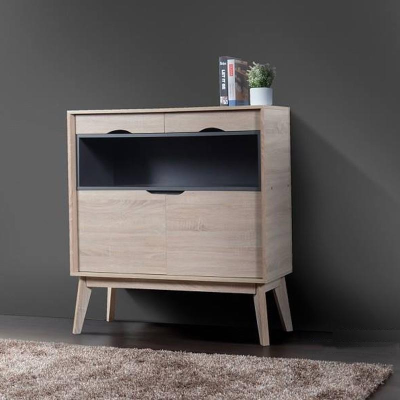 Furniture Direct HELSINKI SCANDINAVIAN COMPACT SIDEBOARD