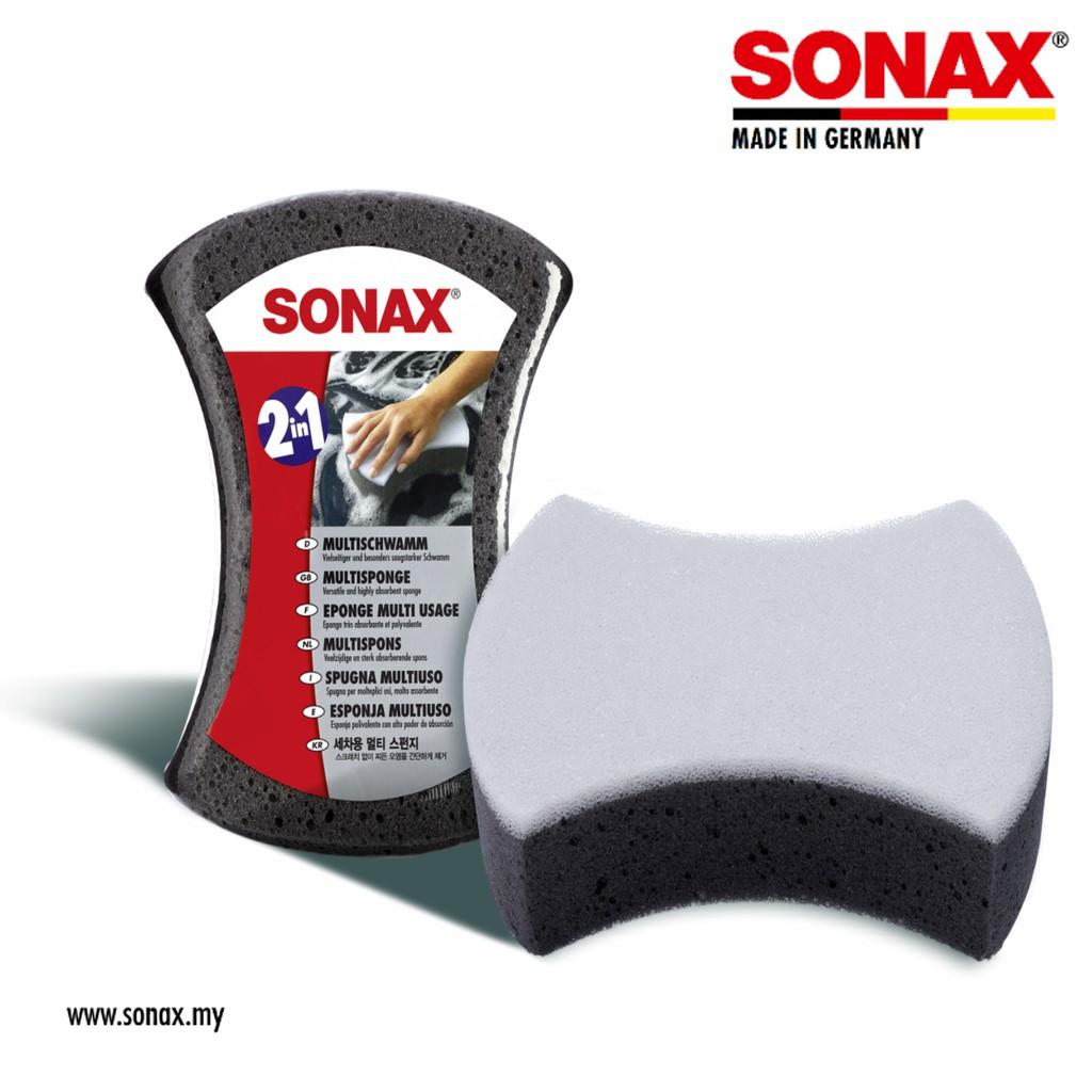 [Car Accessories] SONAX Multi Sponge (1pc/Box)