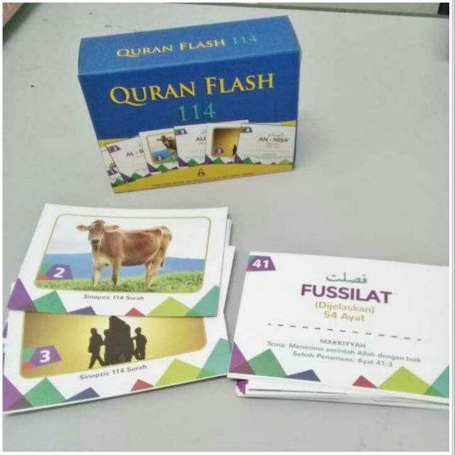 FLASHCARD Al-QURAN