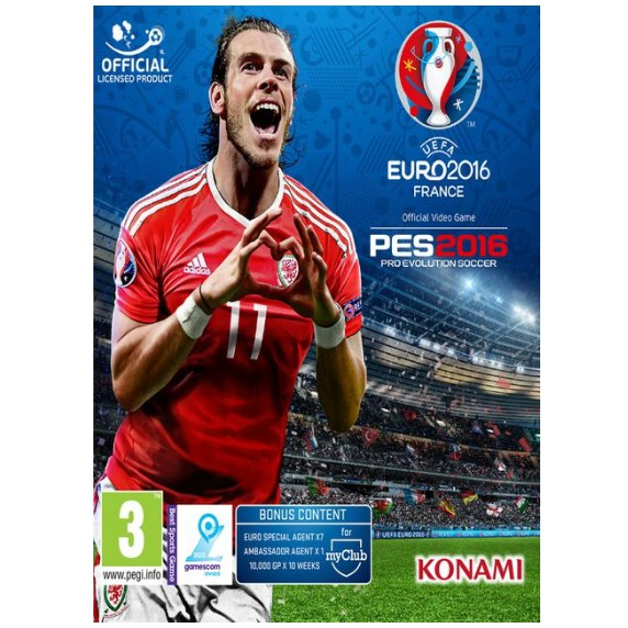 UEFA EURO 2016 FRANCE (PES 2016) [PC DIGITAL DOWNLOAD]