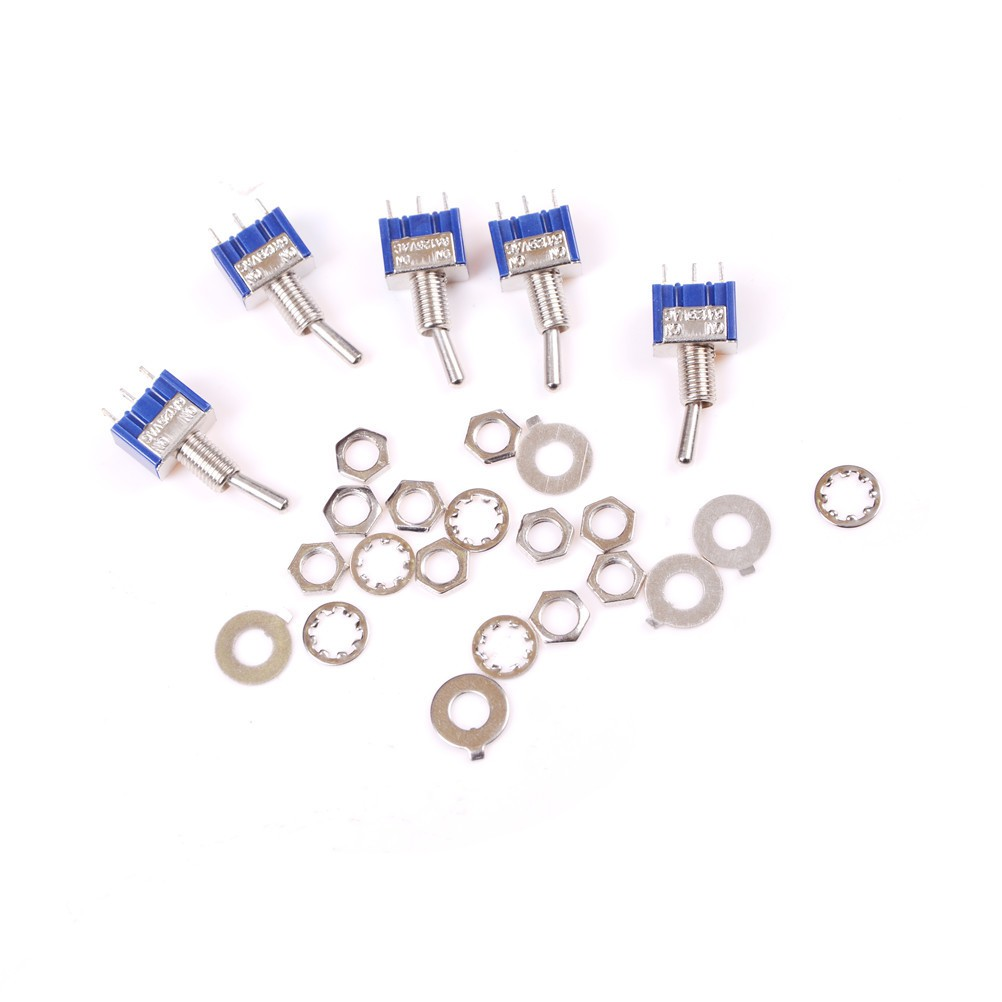 Wo 10pcs 7mm Thread Multicolor 2 Pins Momentary Push Button Switches Details About Latching Switch Rectangular Dc Shopee Malaysia