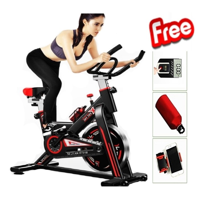 🔥M\'SIA STOCK] Exercise Cycle Bike Support Weight up 150 kg-Alat Senaman Basikal