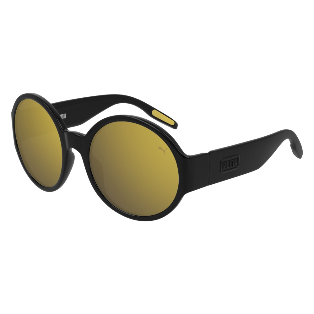 Puma Sunglasses Model PU0243S-004 Black-Black-Gold