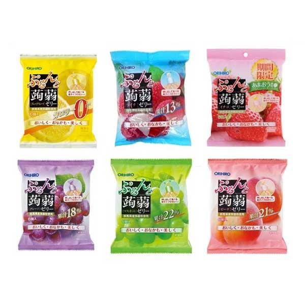 🍬🍬ORIHIRO Jelly เยลลี่บุกไดเอทรสผลไม้🍬🍬