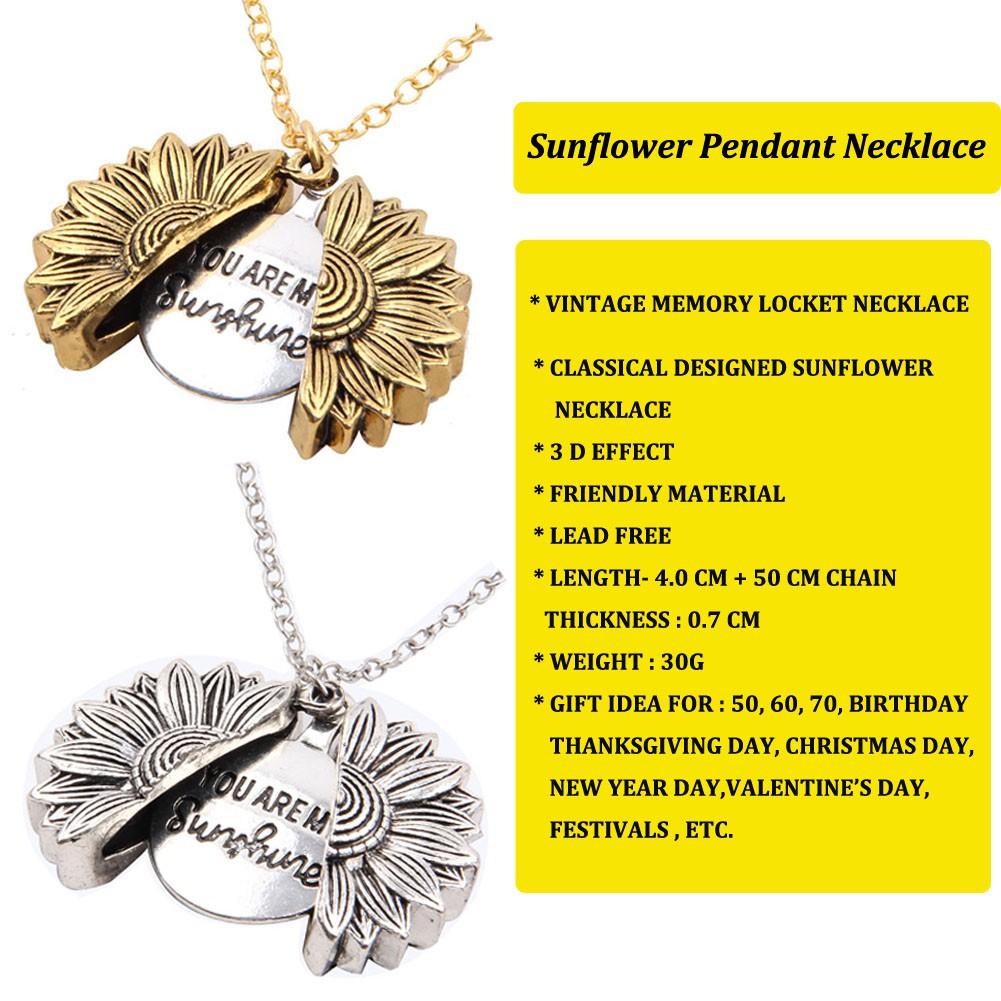 1 Piece Silver Tone Alloy LOVE Design Locket Cage Charm Pendant Necklace 70 cm