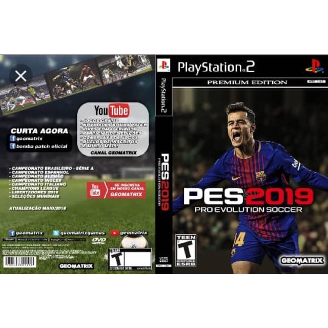 Ps2 Pes 2019 English Version Shopee Malaysia