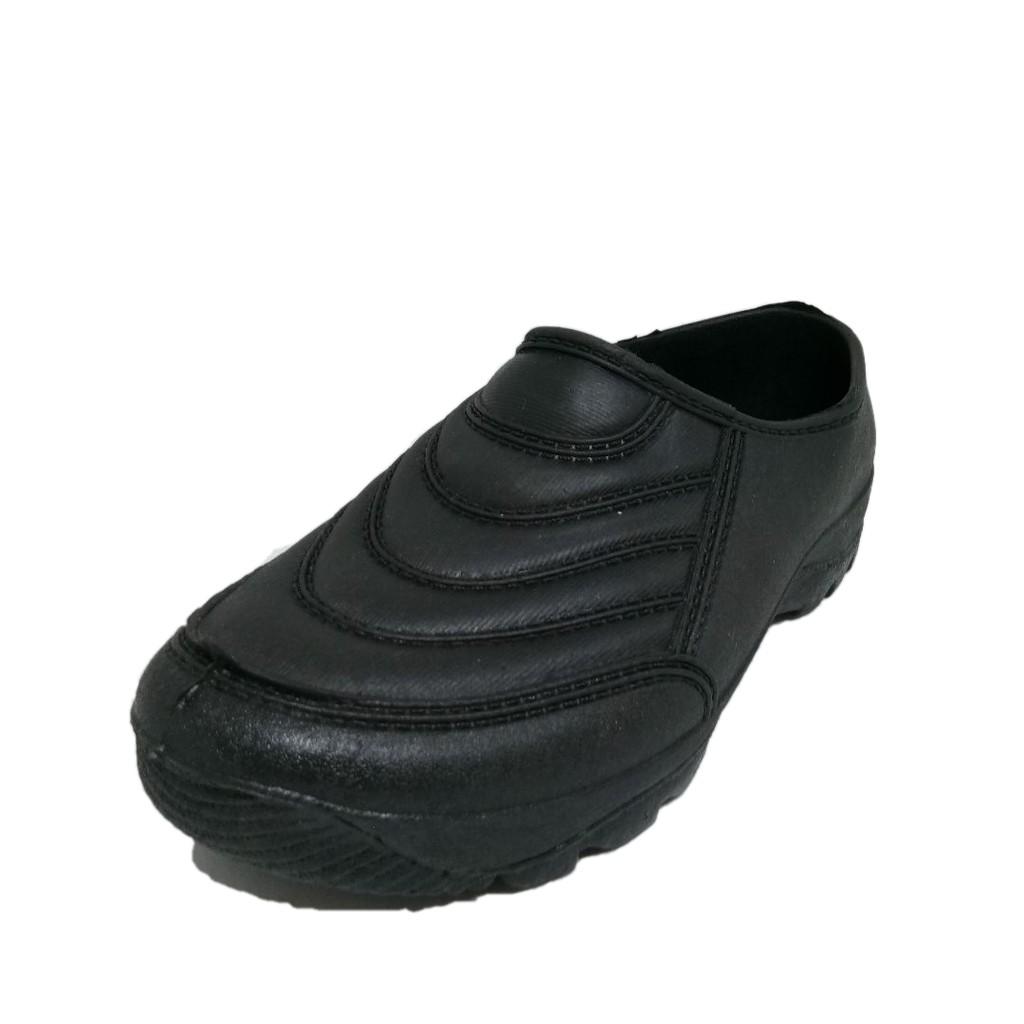 Adidas Kampung Gajah Kasut Getah Cap Gajah Kerja Lasak Hiking Rubber NON Slip shoes(Black) -300