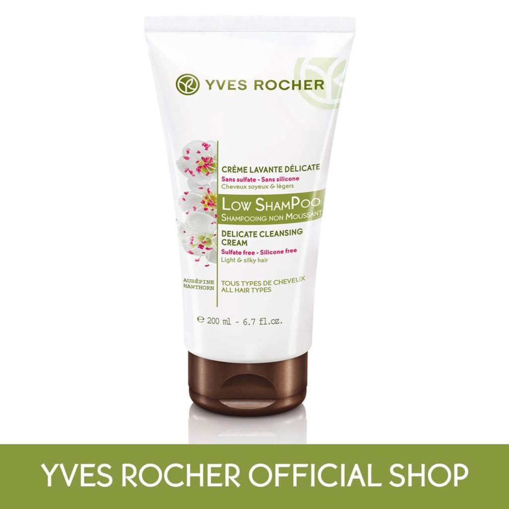 yves rocher low shampoo  Yves Rocher Low Shampoo Delicate Cleansing Cream-200ml   Shopee Malaysia
