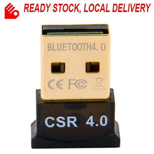 Mini USB Bluetooth Adapter CSR V4.0 Wireless Dongle