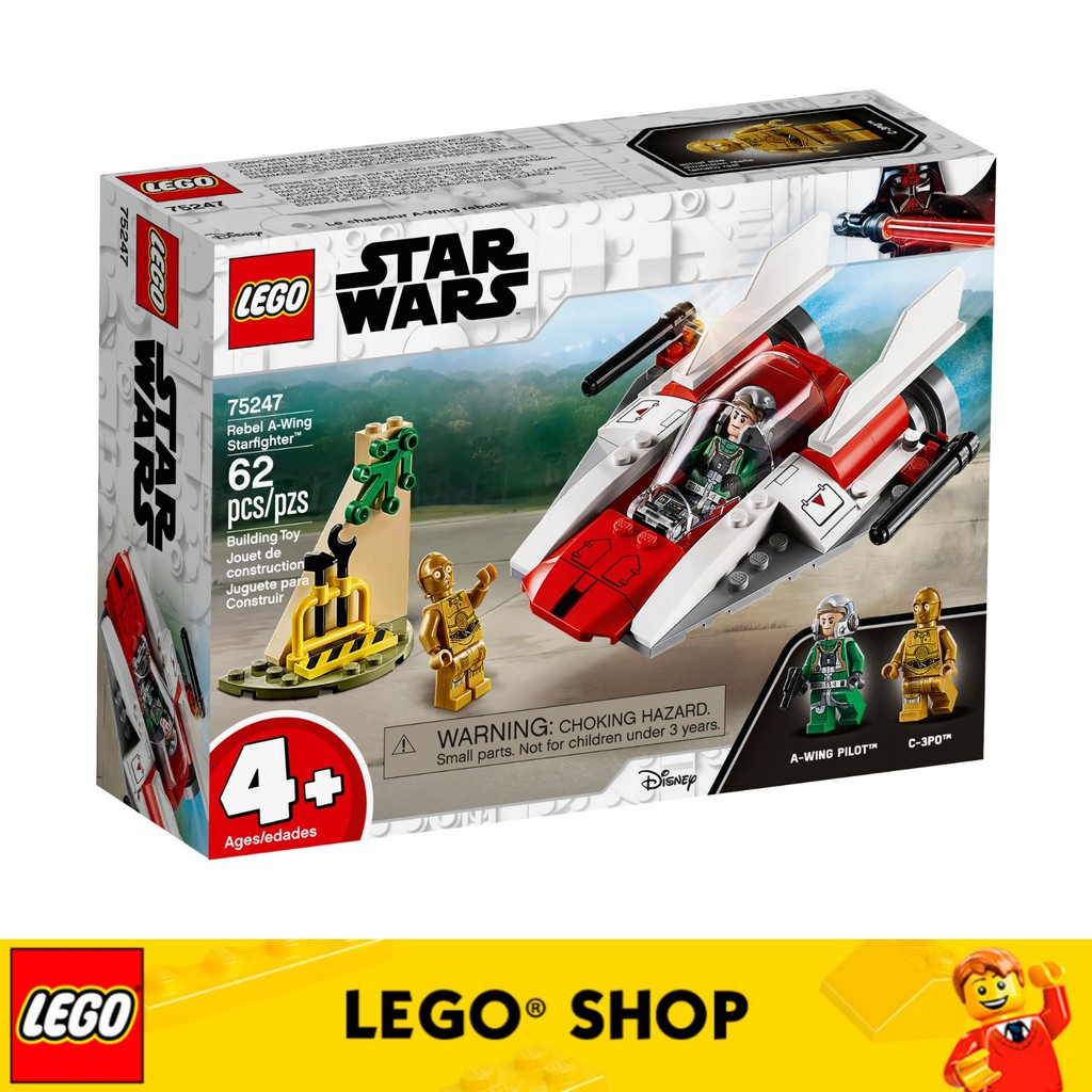 A Wing Rebel Starfighter Lego Star 75247 Wars Tm dCeoWQxrBE