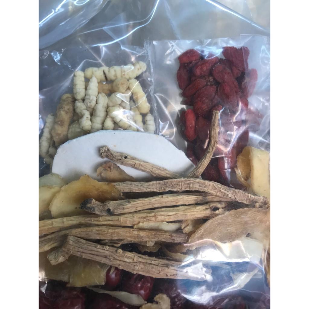 【WH Herbs】Dry Cordyceps Soup 虫草润肺汤