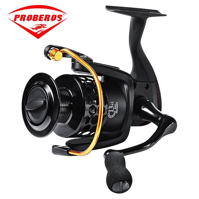 Fishing gear 5 0:1 Gear Ratio 13+1 Ball Bearings Aluminum